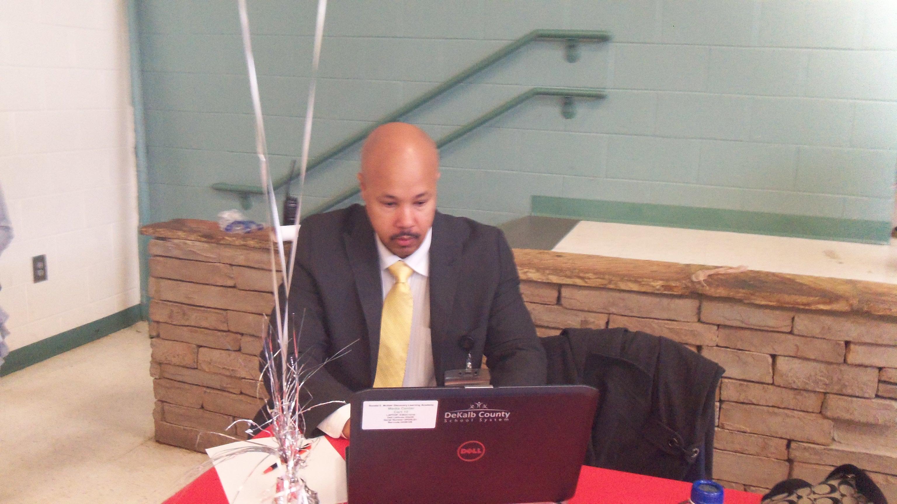 Principal Bolden blogging