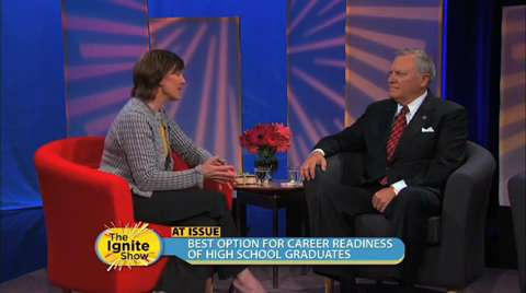 Governor Deal Insights into Career Tracks for Success out of High School