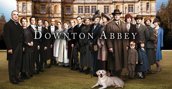 Downton Abbey family photo