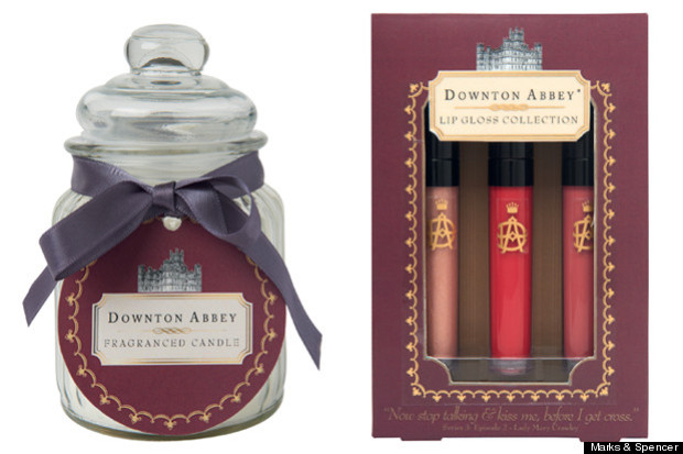 Downton Abbey Candles and lipstick