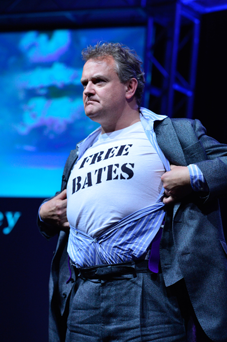 Hugh Bonneville reveals his