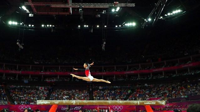 gymnast Asuka Teramoto