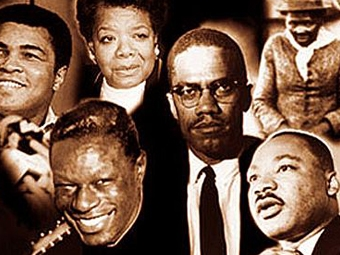 Black History Month - Magazine cover