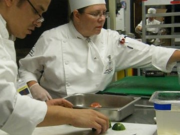 Savannah Technical College has an award-winning culinary arts program.  College officials say, as the economy continues to sputter, more students than ever are taking courses in the hospitality industry, one of Savannah's leading business sectors.  (photo Savannah Technical College)