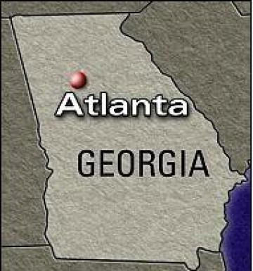 Pics Photos  Georgia State Map Capital Atlanta Macon