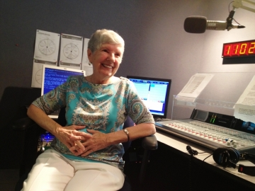 Barbara Anne Duff in GPB Macon studios. (photo:Josephine Bennett)