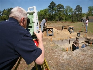 The discoveries at Camp Lawton have excited history and archaeology fans.  (photo Georgia Southern University)