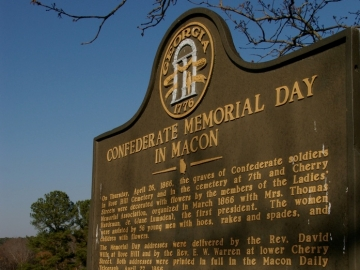 Monday is Confederate Memorial Day across Georgia, closing state offices and giving state employees a day off. Civil War historian Michael Shaffer talks about the holiday and why it is celebrated in Georgia. (Photo Courtesy of <a href=http://www.flickr.com/photos/bengarland/327681625/>bengarland data-cke-saved-href=http://www.flickr.com/photos/bengarland/327681625/>bengarland via Flickr</a>.)