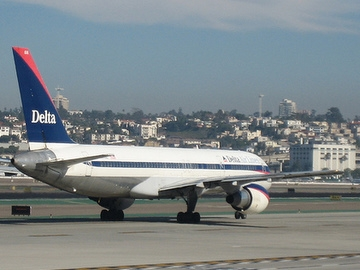 The state legislature initially gave Delta Air Lines tax breaks on jet fuel because of the company's tough financial straits during the recession. This session, legislators voted to extend the exemptions until 2013, even though the company has bounced back.(Photo courtesy of Krista E.)