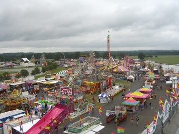 The annual Georgia National Fair kicks off its 22nd year in Perry, Georgia Thursday. (photo courtesy of Jessica Lynn)