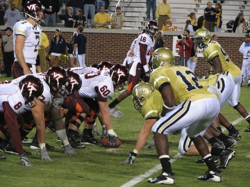 Georgia Tech's football program, along with men's basketball, was placed on probation by the NCAA Thursday. (photo-Mosesxan)