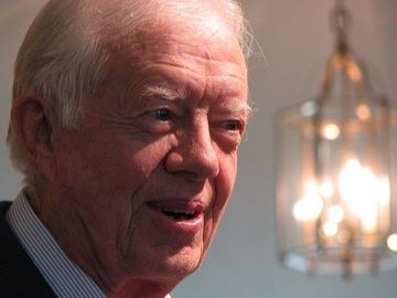 Former President Jimmy Carter is set to make another trip to the middle East.  (photo-Grace, through Flickr)