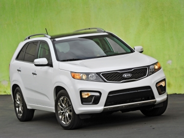 A 2011 Kia Sorento. The Kia factory in West Point, Ga., is adding up to a thousand workers by the end of the year and is planning to add a third shift too. Georgia's manufacturing sector had a good February with increases in new orders, production, and some improvement in hiring. (Photo Courtesy of Kia Motors.)