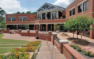 ... Center at Macon State College (photo courtesy Macon State College