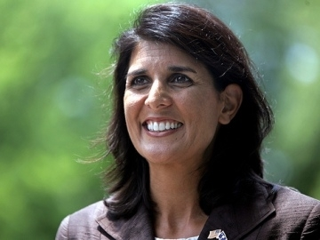 South Carolina Governor Nikki Haley vetoed a measure concerning the Joint Project Office.  (photo Mary Austin)