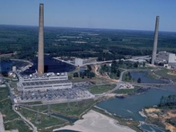 Georgia Power Plant Yates