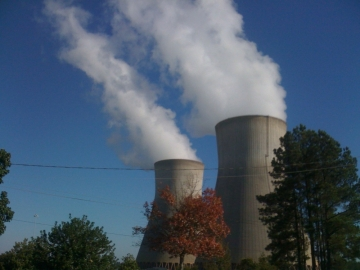 Construction of a new nuclear power plant near Augusta is behind schedule. That's what Georgia Power officials told the state's Public Service Commission Wednesday. The first new reactor at Plant Vogtle (in photo) will begin operating in November of 2016.