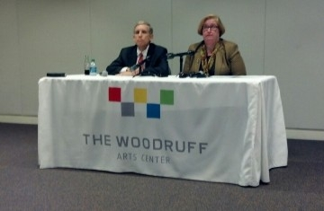Chair of the Woodruff Arts Center Board Larry Gellerstedt III and Woodruff CEO Virginia Hepner announced that a former employee stole $1,438,000 million from the organization.