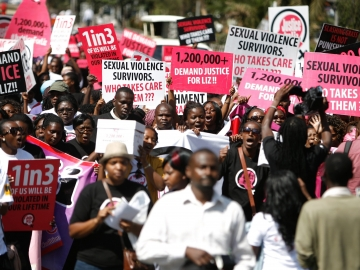Protesters Call For Justice In Brutal Gang-Rape In Kenya