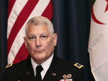 Gen. Carter Ham is head of the U.S. African command. An Army brigade from Fort Riley, Kan., will begin helping train African militaries beat back a growing terrorist threat posed by al-Qaida.