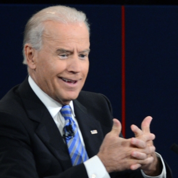 Vice President Biden thought much of what his opponent said Thursday night was malarkey, and his face often showed what he was thinking.