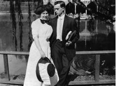 Leo Frank and his wife Lucille Selig