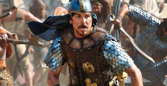Christian Bale portrays Moses in Ridley Scott's Exodus.