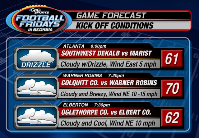GPB Sports Football Fridays Forecast