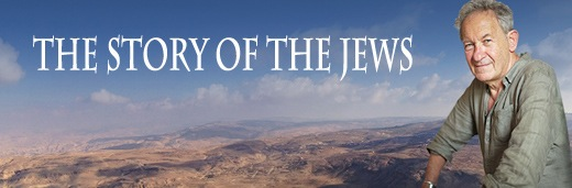 the story of the jews banner