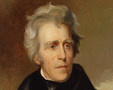 a biography of the american president andrew jackson Story highlights president andrew jackson subject of new biography, american lion seventh president a man of contradictions, also modern in many ways.