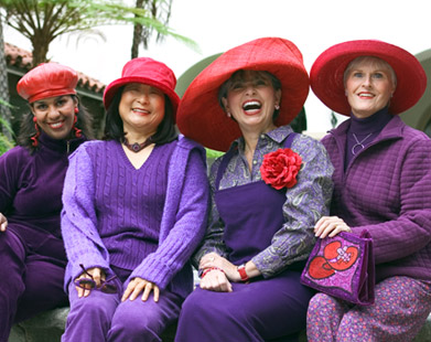 THE REMARKABLE RED HAT SOCIETY chronicles the evolution of the Red Hat  Society 9a446f7e1a3