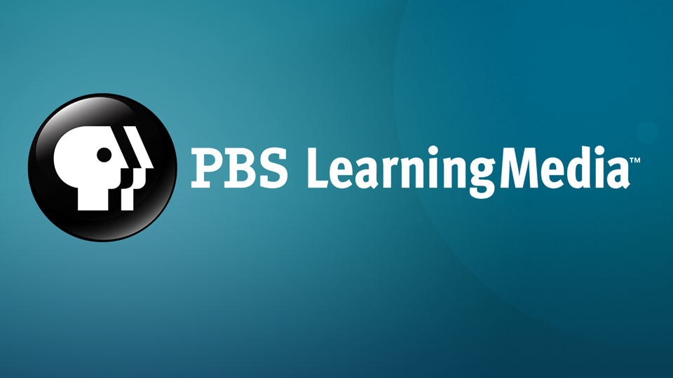 PBS Learning Media logo - a generic persons face inside a black circle.