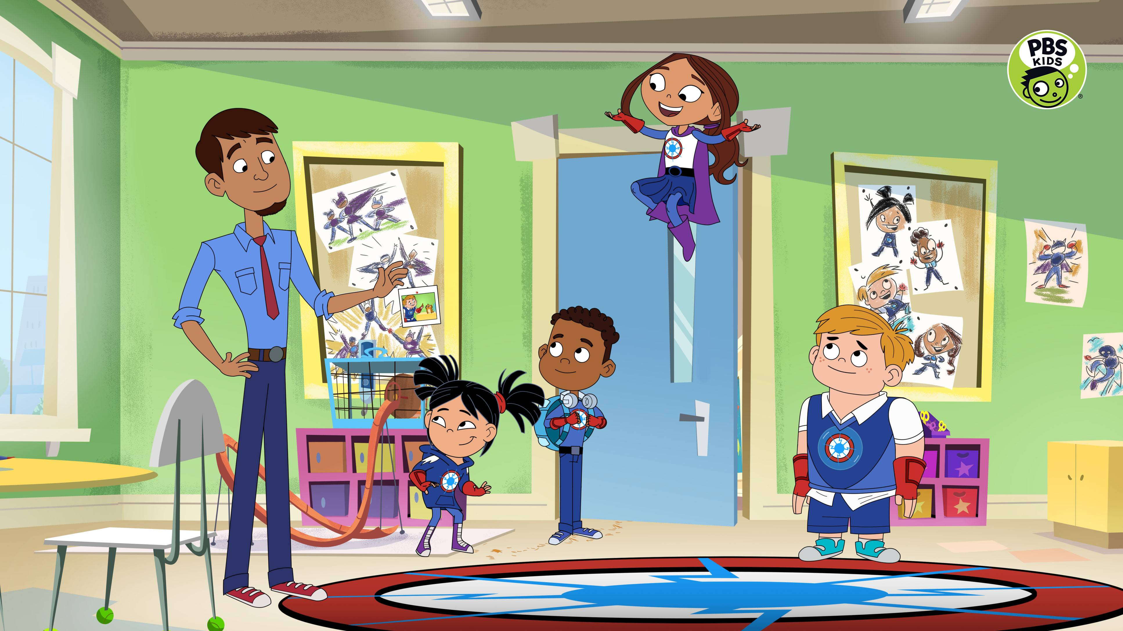 PBS KIDS Announces New Series HERO ELEMENTARY, Premiering