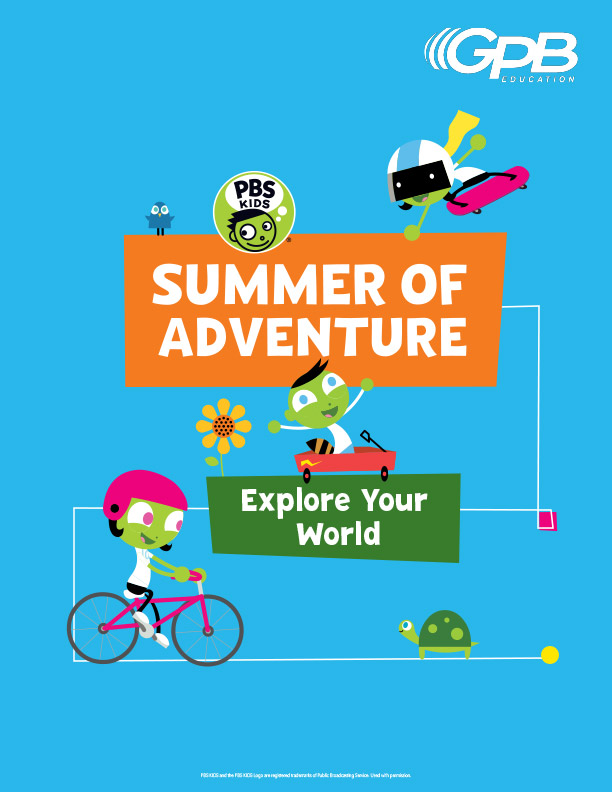 August Summer of Adventure booklet cover