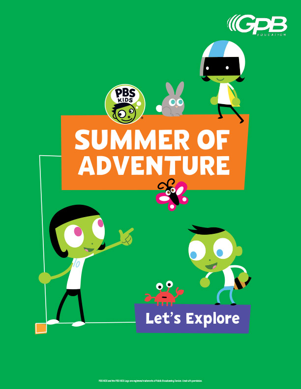 June Summer of Adventure booklet cover