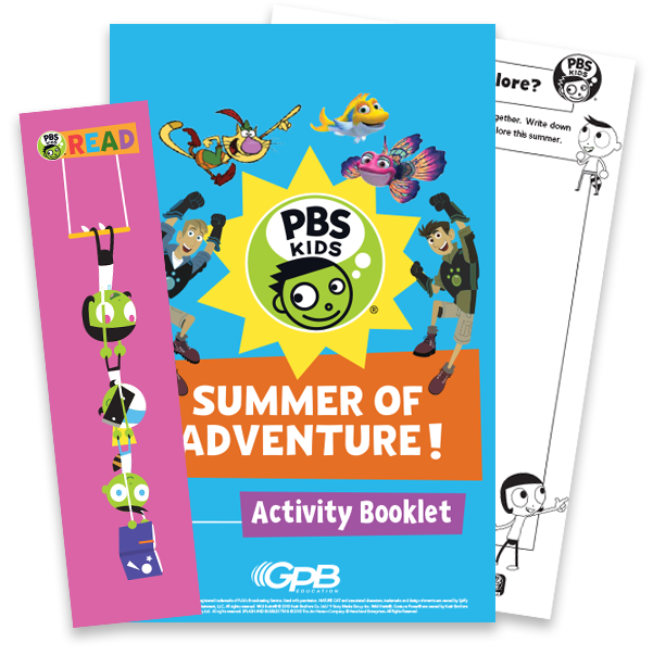 Summer of Adventure Activity Booklet and Bookmark Preview