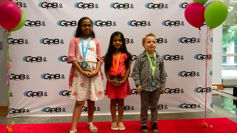 Writer's Contest first grade winners