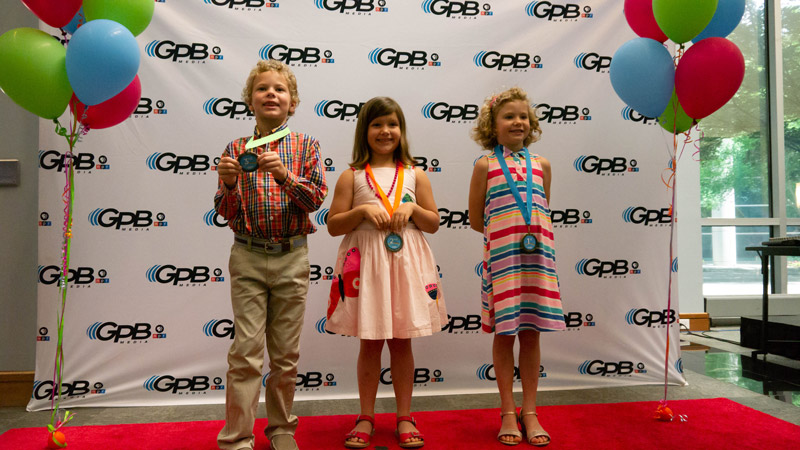 Writer's Contest Kindergarten winners