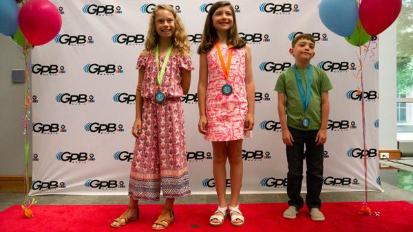 Writer's Contest third grade winners