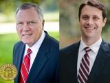 Governor Nathan Deal and Senator Jason Carter
