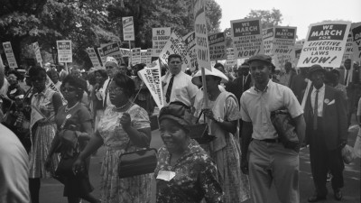 Women Walking, The March on Washington 1963 - THE MARCH. Courtesy  of NARA/Smoking Dogs Films