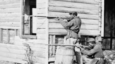The Georgia Historical Society has unveiled a new marker at Fort Hill in Dalton honoring Civil War-era black troops.