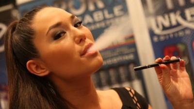 "Courtesy, <a href=""http://commons.wikimedia.org/wiki/File:Electronic_Cigarette_Smoking.jpg"" target=""_blank"">Wikimedia</a>"