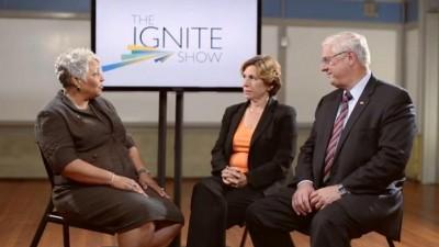 Brenda Welburn interviews President Randi Weingarten (AFT) and President Dennis Van Roekel (NEA)