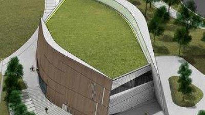 Mock-up of the NEW National Center for Civil and Human Rights, opening 2014