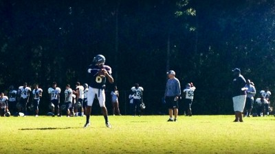 Norcross Sr. QB A.J. Bush has rounded into form over the last few weeks, leading the 6-2 Blue Devils to 5 straight victories.
