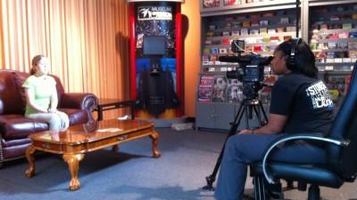 Fast Forward filming in Dalton, GA