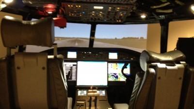 Gulfstream Flight Simulation Lab--BEST VIDEOGAME EVER!!!