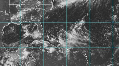 Visible satellite imagery of the tropics