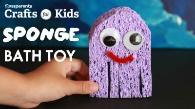 DIY Sponge Bath Toy